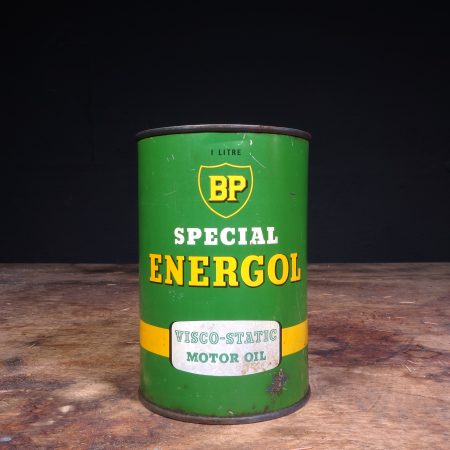1950's BP Energol Viscol Static Motor Oil can