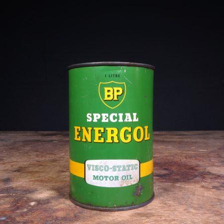 1950's BP Energol Viscol Static Motor Oil can