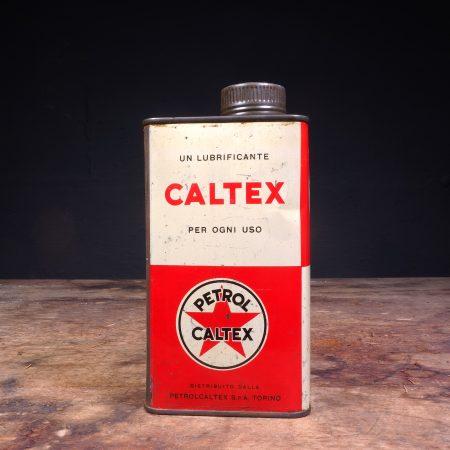 1950's Caltex Petrol Motor Oil can