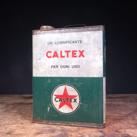 1950's Caltex Motor Oil can