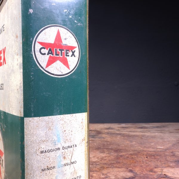 1950's Caltex Motor Oil can