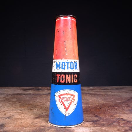 1950's Purfina Motor Tonic Oil Can