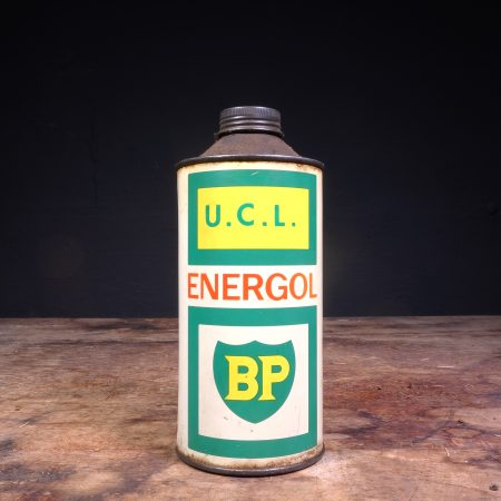 1960's BP Energol UCL Oil Can