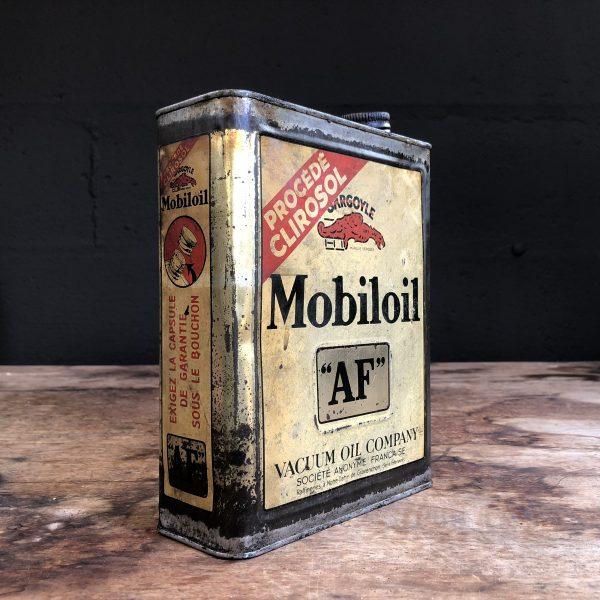 1930 Gargoyle Mobiloil AF Oil Can
