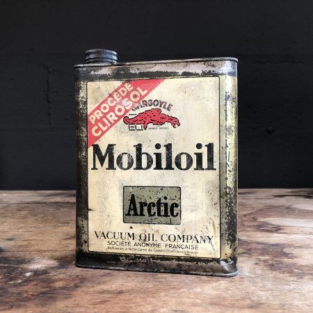 1930 Gargoyle Mobiloil Actic Oil Can