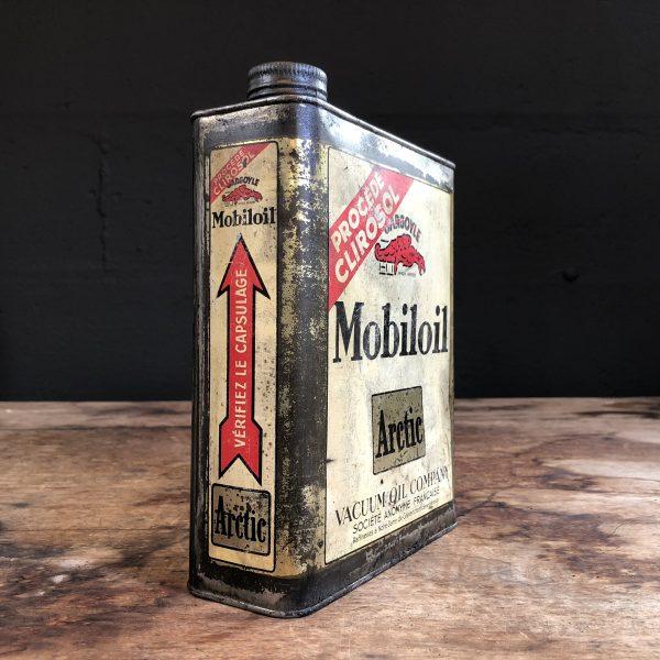 1930 Gargoyle Mobiloil Actic Oil Can