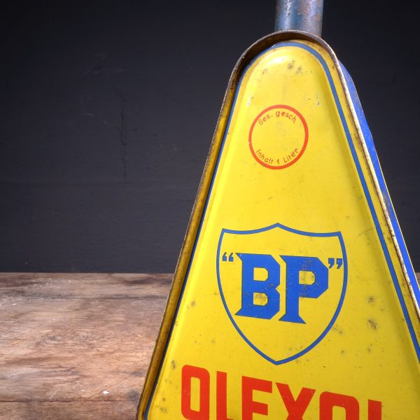 1930 BP Olexol Oil Can