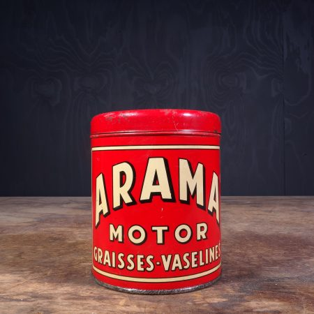 1930 Arama Motor Graisses Grease Can