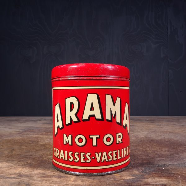 1930 Arama Motor Graisses Grease Can