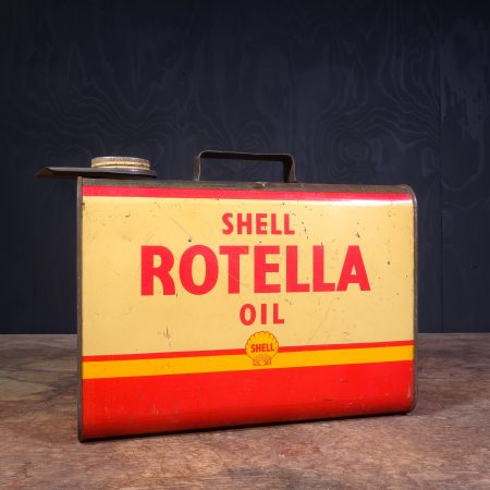 1950 Shell Rotella Oil can