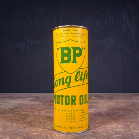 1930 BP Long Life Motor Oil Can