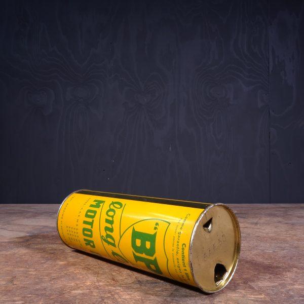 1930 BP Long Life Motor Oil Can