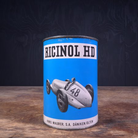 1940 Ricinol Motor Oil Can