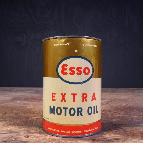 1950 Esso Extra Motor Oil Can