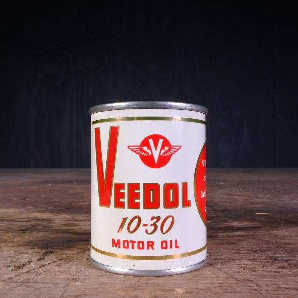 1950 Veedol Piggy Bank Can