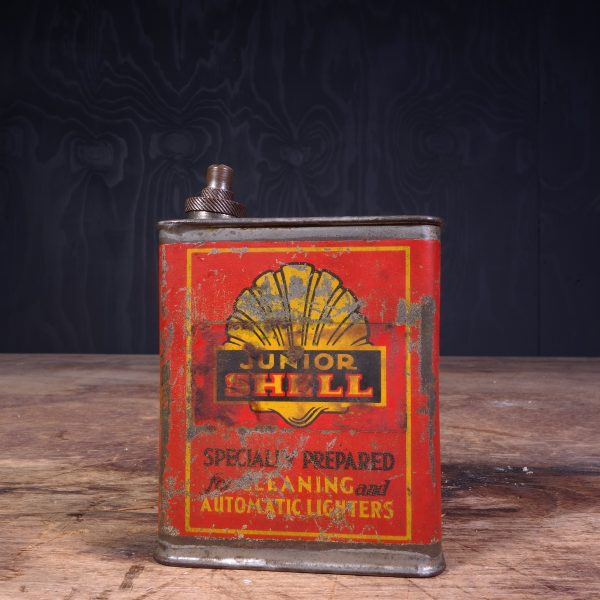 1920 Shell Junior Can