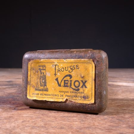 1930 Trousse Velox Tire Repair Tin