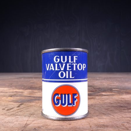 1950 Gulf Valvetop Oil Can