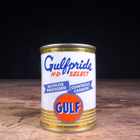 1950 Gulf Piggy Bank Can