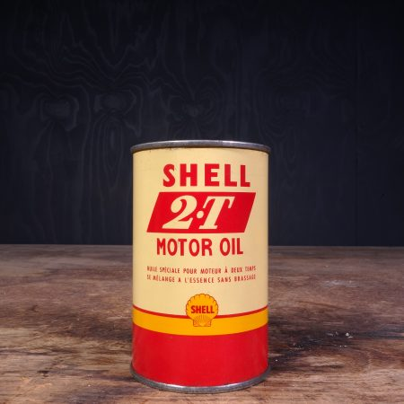 1950 Shell 2-T Motor Oil Can