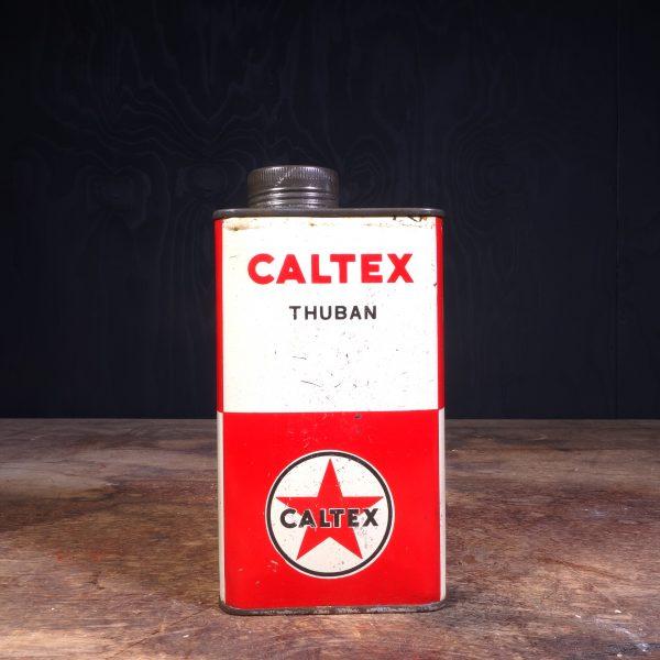1950 Caltex Thuban Motor Oil Can