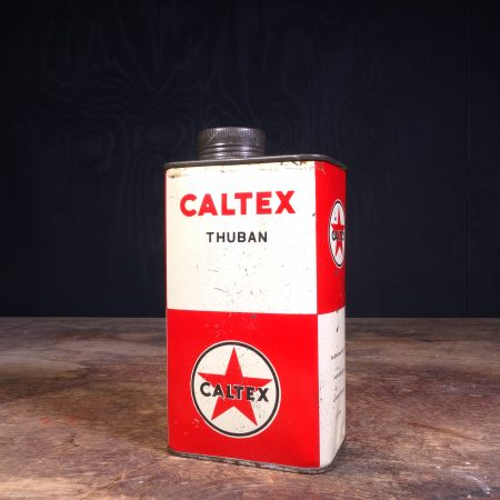 1950 Caltex Thuban Motor Oil Can