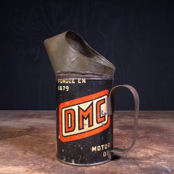 1930 DMC Motor Oil Jug