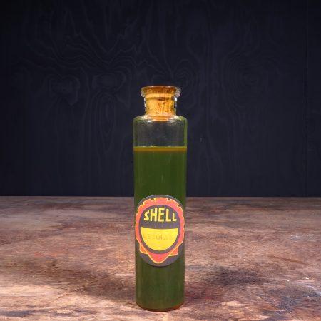 1930 Shell Sample Oil Bottle