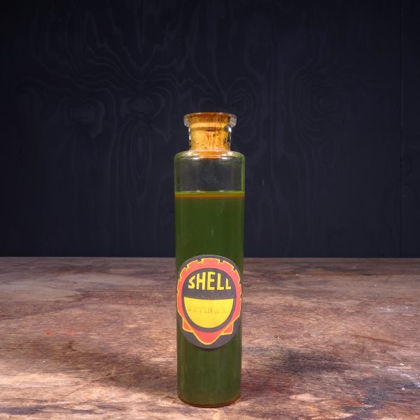 1930 Shell Sample Oil Bottle