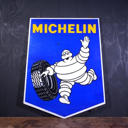 1950 Michelin Enamel Sign
