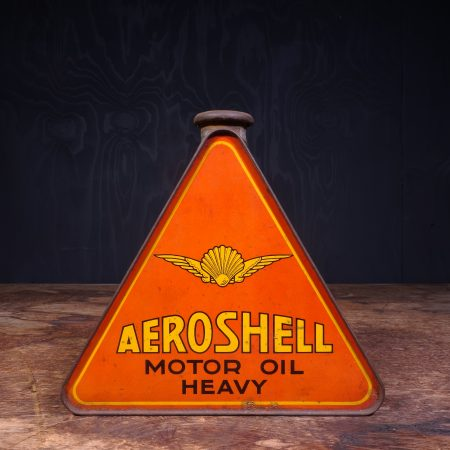 1930 Aeroshell Motor Oil Can
