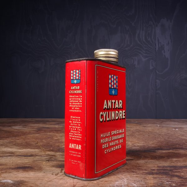 1950 Antar Cylindre Oil Can