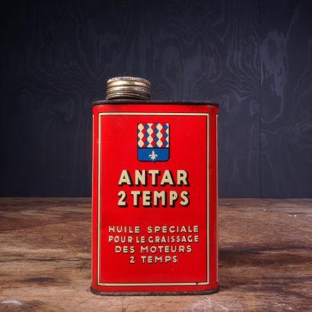 1950 Antar 2 Temps Oil Can