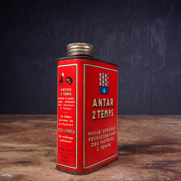 1950 Antar 2 Temps Oil Can