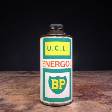 1960 BP Energol UCL Oil Can