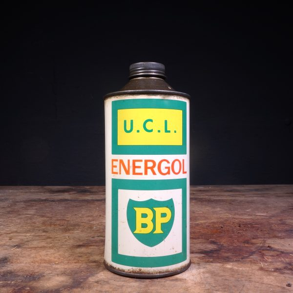 1960 BP Energol UCL Oil Can