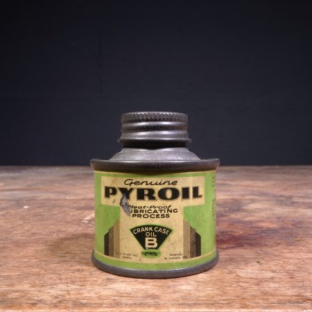1930 Pyroil Crank Case B Oil Can