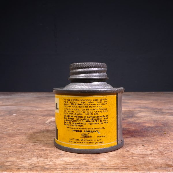 1930 Pyroil Top A Oil Can