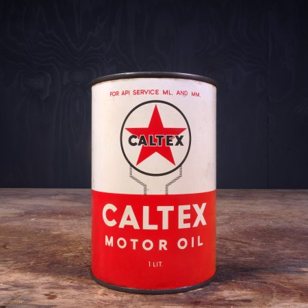1950 Caltex Motor Oil Can