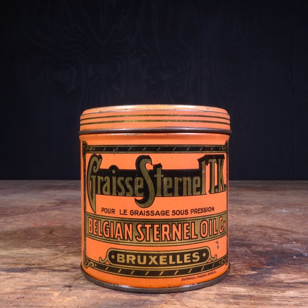 1920 Sternel Graisse Grease Can