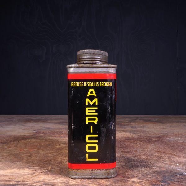 1950 Americol Motor Oil Can