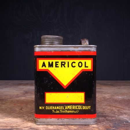 1950 Americol Motor Oil Can