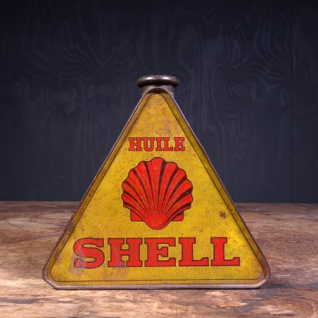 1930 Shell Huile Motor Oil Can