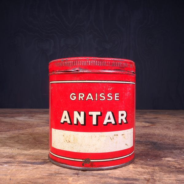 1950 Antar Graisse Grease Can