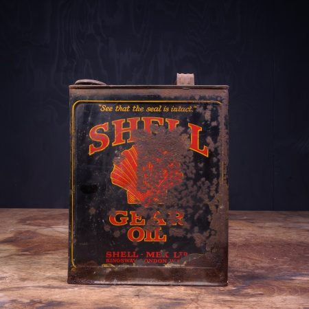 1920 Shell Gear Oil Can
