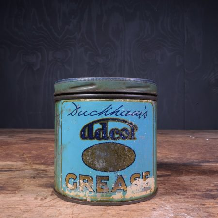 1940 Duckhams Adcol Grease Can