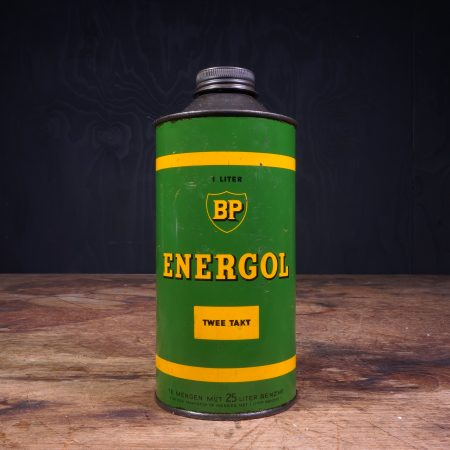 1950 BP Energol Twee Takt Deux Temps oil can