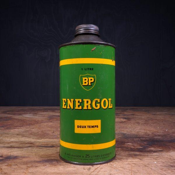 1950 BP Energol Twee Takt Deux Temps oil can
