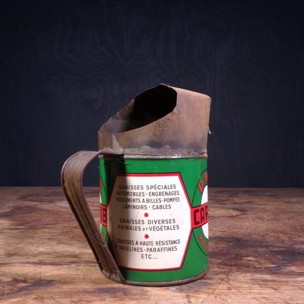 1940 DMC Carlub Motor Oil jug
