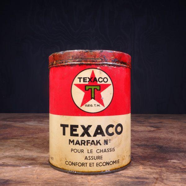 1940 Texaco Marfak Grease Can